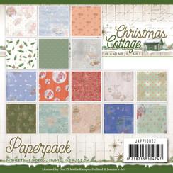 JAPP10022 - Papierpak - Jeanines Art - Christmas Cottage