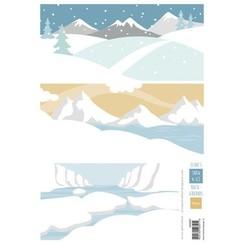 AK0087 - Elines achtergrond sneeuw en ijs