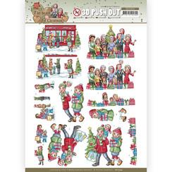 SB10594 - Uitdrukvel - Yvonne Creations - The Heart of Christmas - Shopping