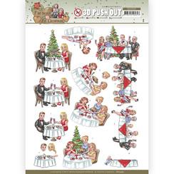 SB10595 - Uitdrukvel - Yvonne Creations - The Heart of Christmas - Dining