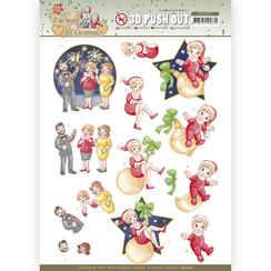 SB10597 - Uitdrukvel - Yvonne Creations - The Heart of Christmas - Fireworks