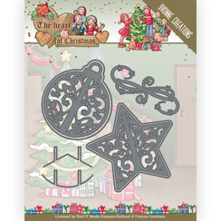 YCD10254 - Mal - Yvonne Creations - The Heart of Christmas - Twinkling Decorations