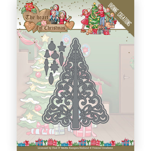 Yvonne Creations YCD10255 - Mal - Yvonne Creations - The Heart of Christmas - Twinkling Tree