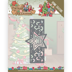 YCD10256 - Mal - Yvonne Creations - The Heart of Christmas - Twinkling Border