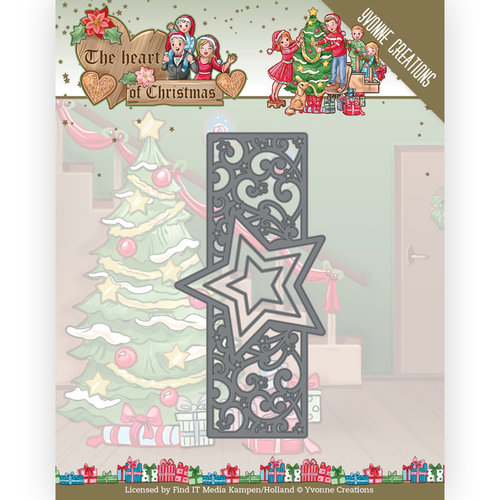 Yvonne Creations YCD10256 - Mal - Yvonne Creations - The Heart of Christmas - Twinkling Border