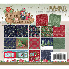 YCPP10042 - Papierpak - Yvonne Creations - The Heart of Christmas
