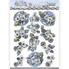SB10598 - Uitdrukvel - Amy  Design - Awesome Winter - Winter Flowers
