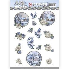 SB10601 - Uitdrukvel - Amy  Design - Awesome Winter - Winter Village