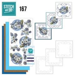 STDO167 - Stitch en Do 167 - Amy Design - Awesome Winter - Winter Flowers