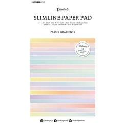 Studio Light Paper pad Essentials Slimline Pastel Gradient SL-ES-PP30 115x220mm