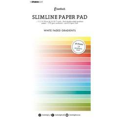 Studio Light Paper pad Essentials Slimline White fade SL-ES-PP31 115x220mm