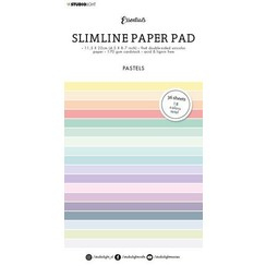 Studio Light Paper pad Essentials Slimline Pastel  Unicolor SL-ES-PP32 115x220mm
