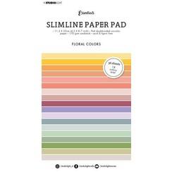 Studio Light Paper pad Essentials Slimline Floral SL-ES-PP33 115x220mm