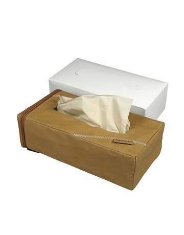 Zuperzozial Tissue box holder + tissues