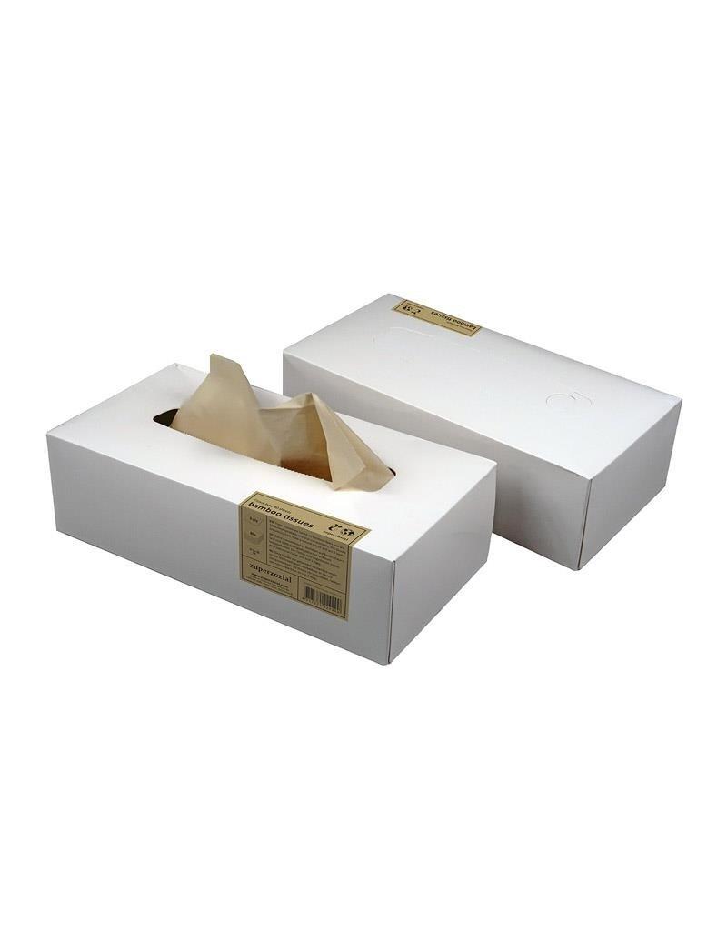 Zuperzozial Bamboo tissues (80 pcs)