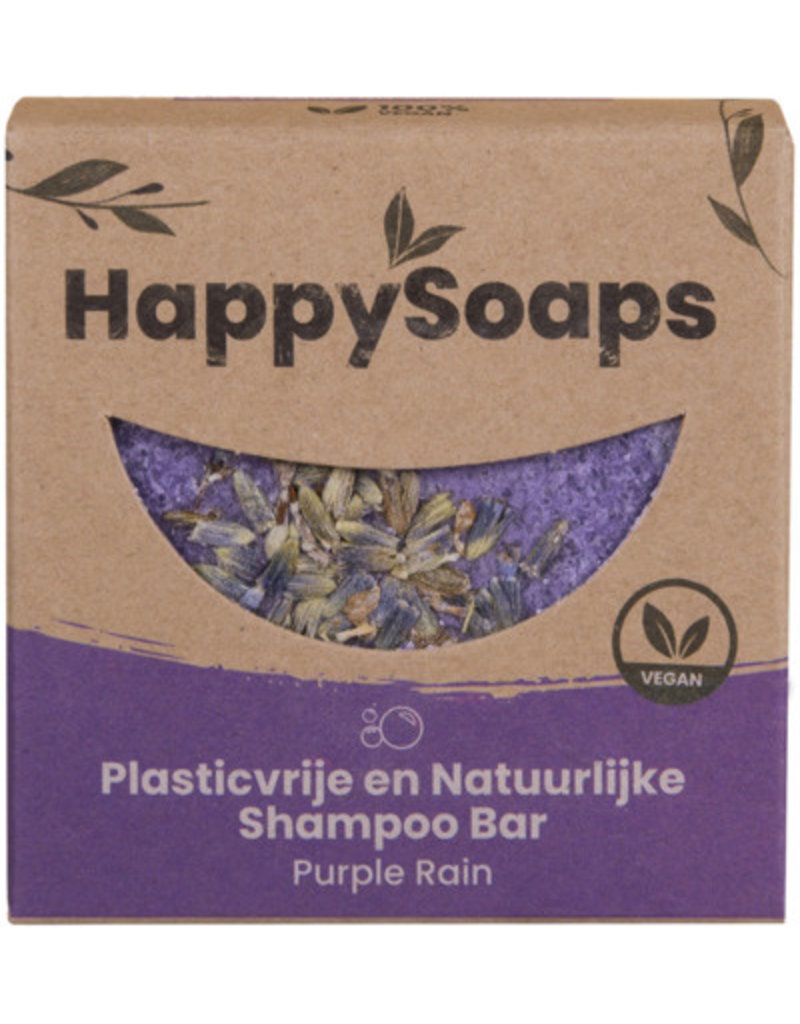 HappySoaps HappySoaps : Shampoo Bar Purple Rain