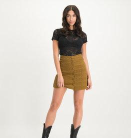 Lofty Manner Skirt Ester Yellow