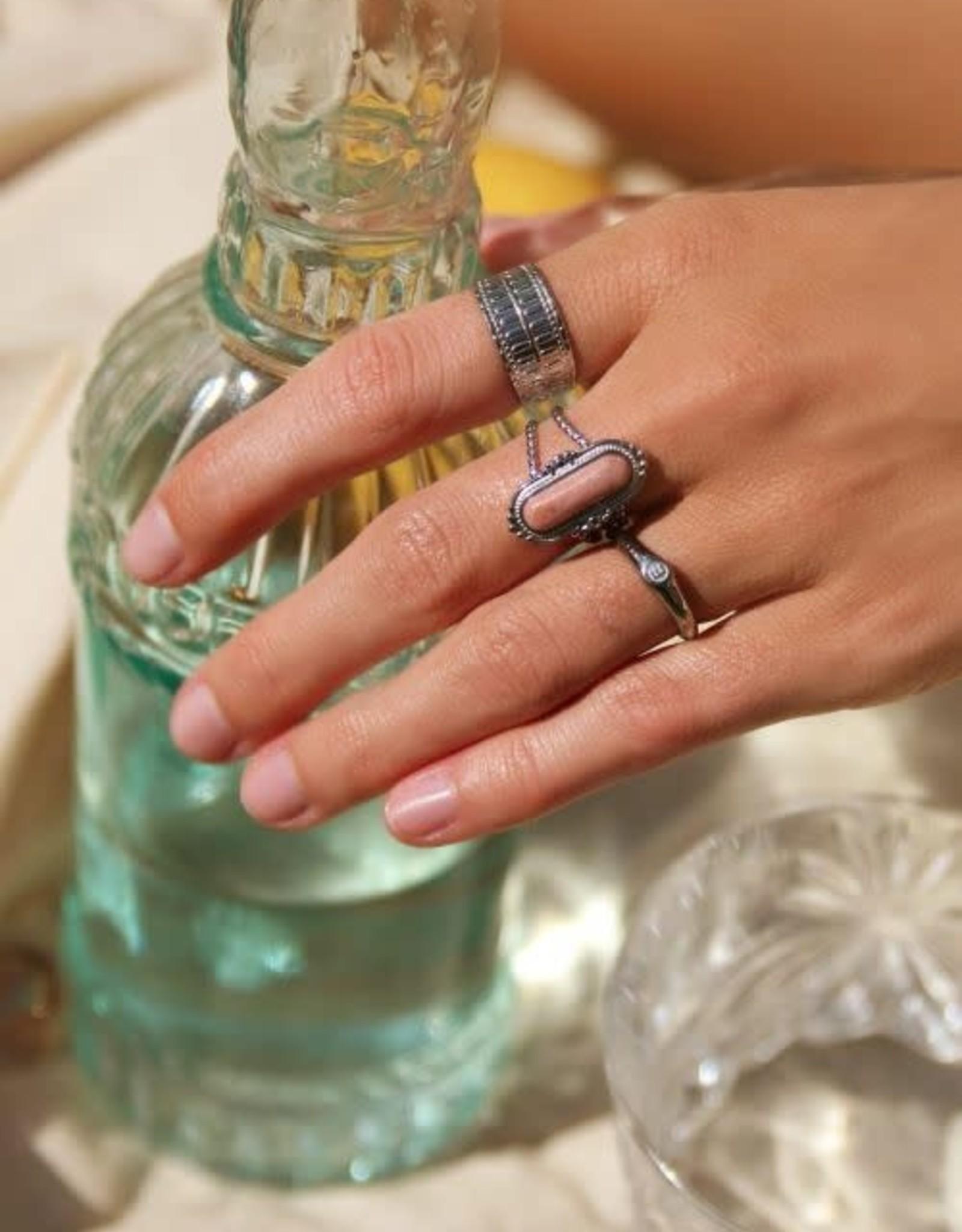 MyJewellery Ring Roze Steen Goud