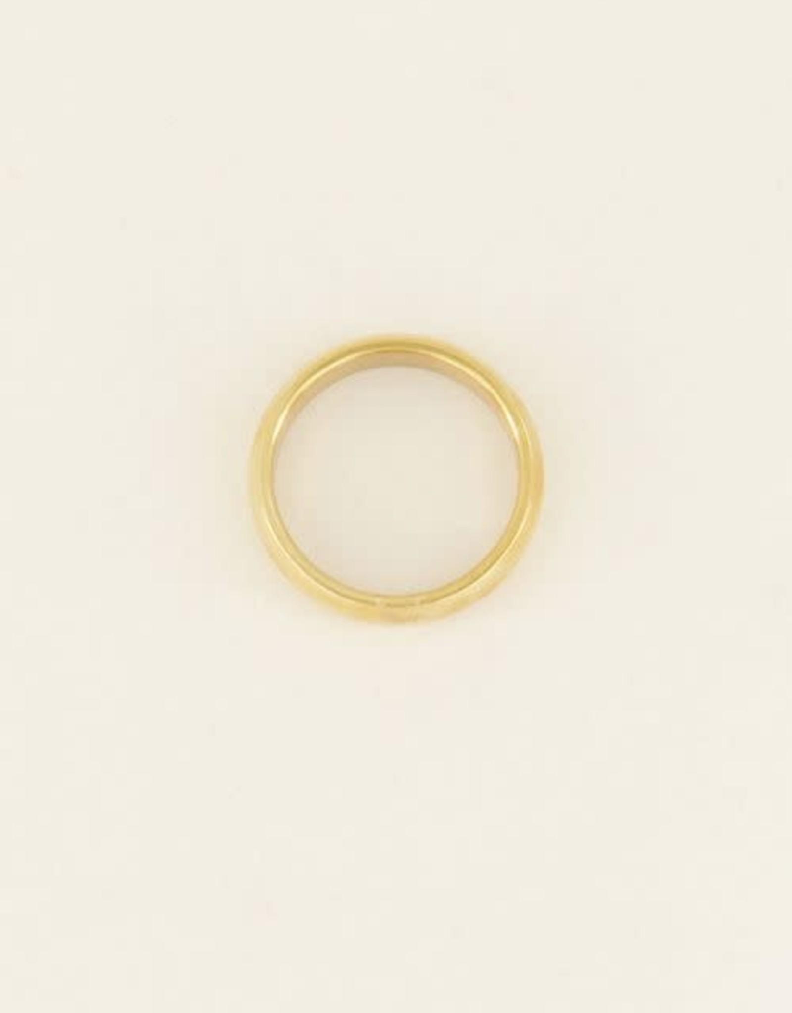 MyJewellery Brede Ring Basic Goud