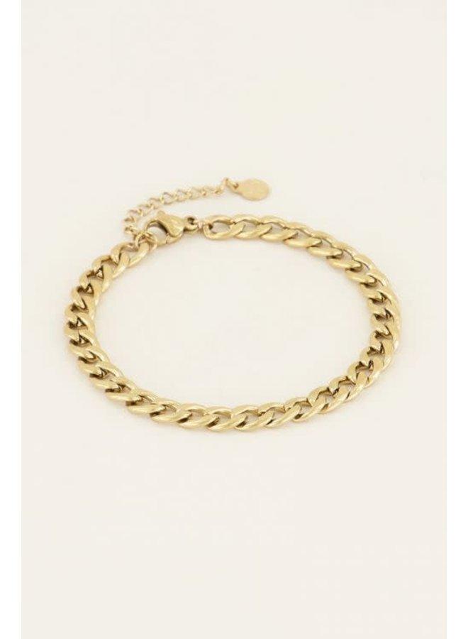 Armband Schakels Goud