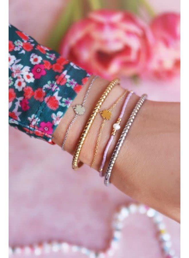 Armband Klaver Goud