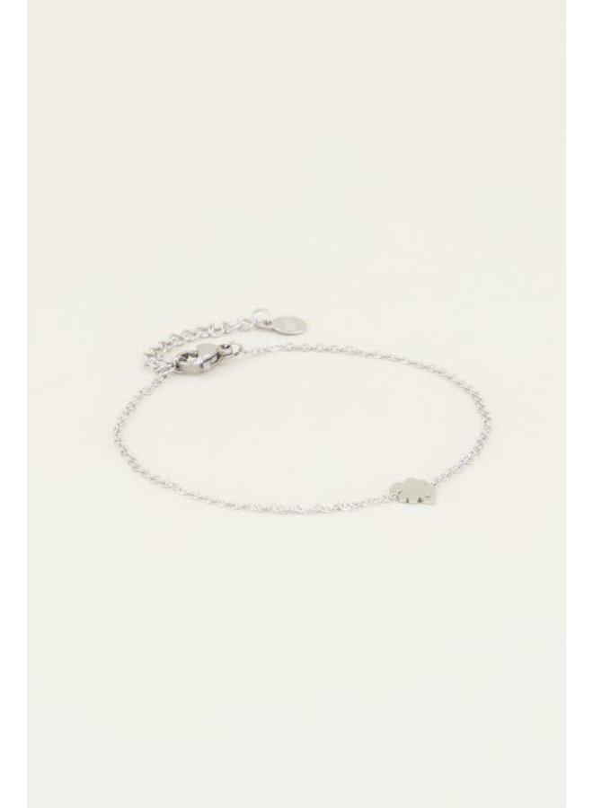Armband Klaver Zilver