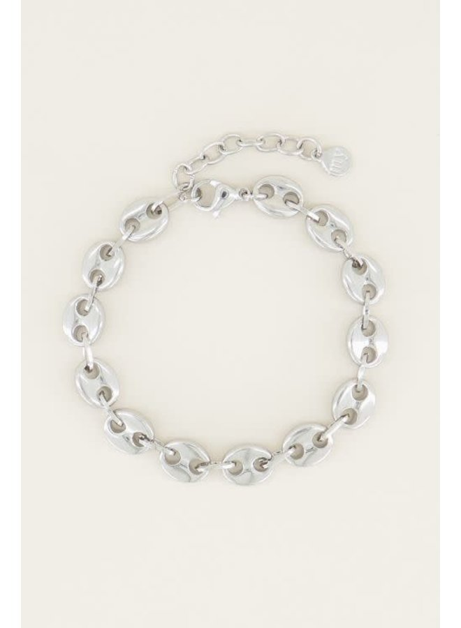 Moments Armband Bold Zilver