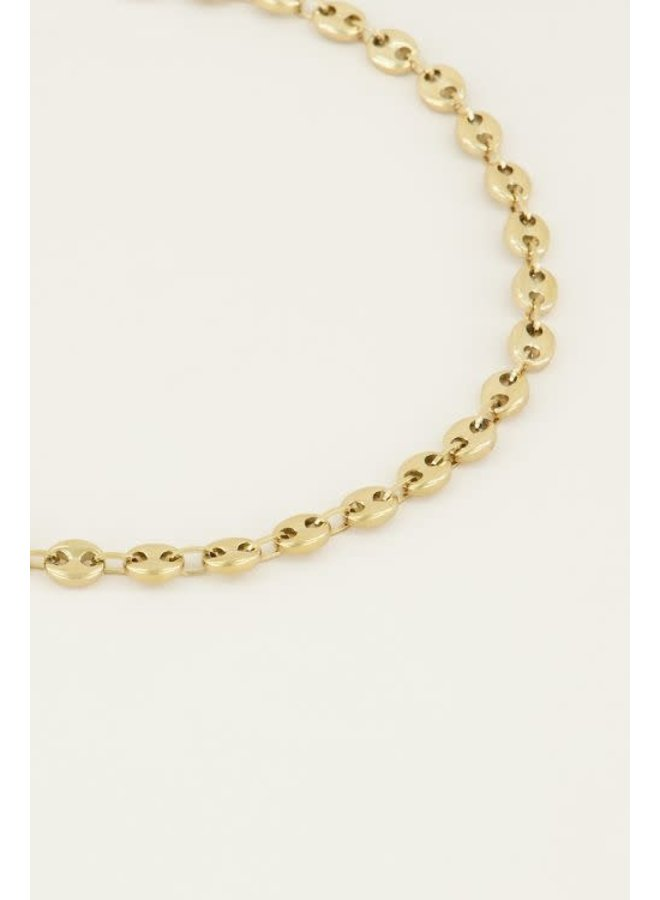 Moments Ketting Bold Goud