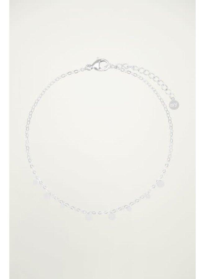 Armband Kleine Rondjes  Zilver