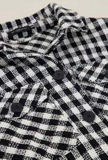 MyJewellery Zwart - Witte Oversized Jas met Ruitjes