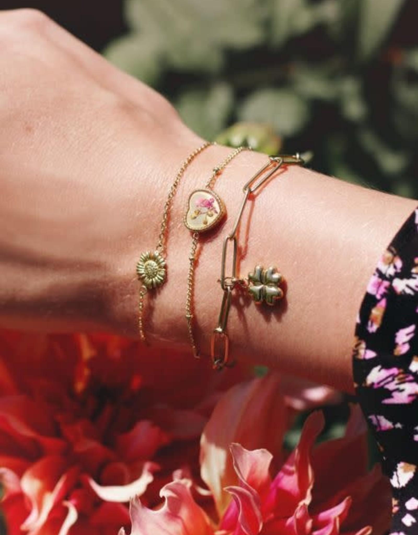 MyJewellery Armband Daisy Goud