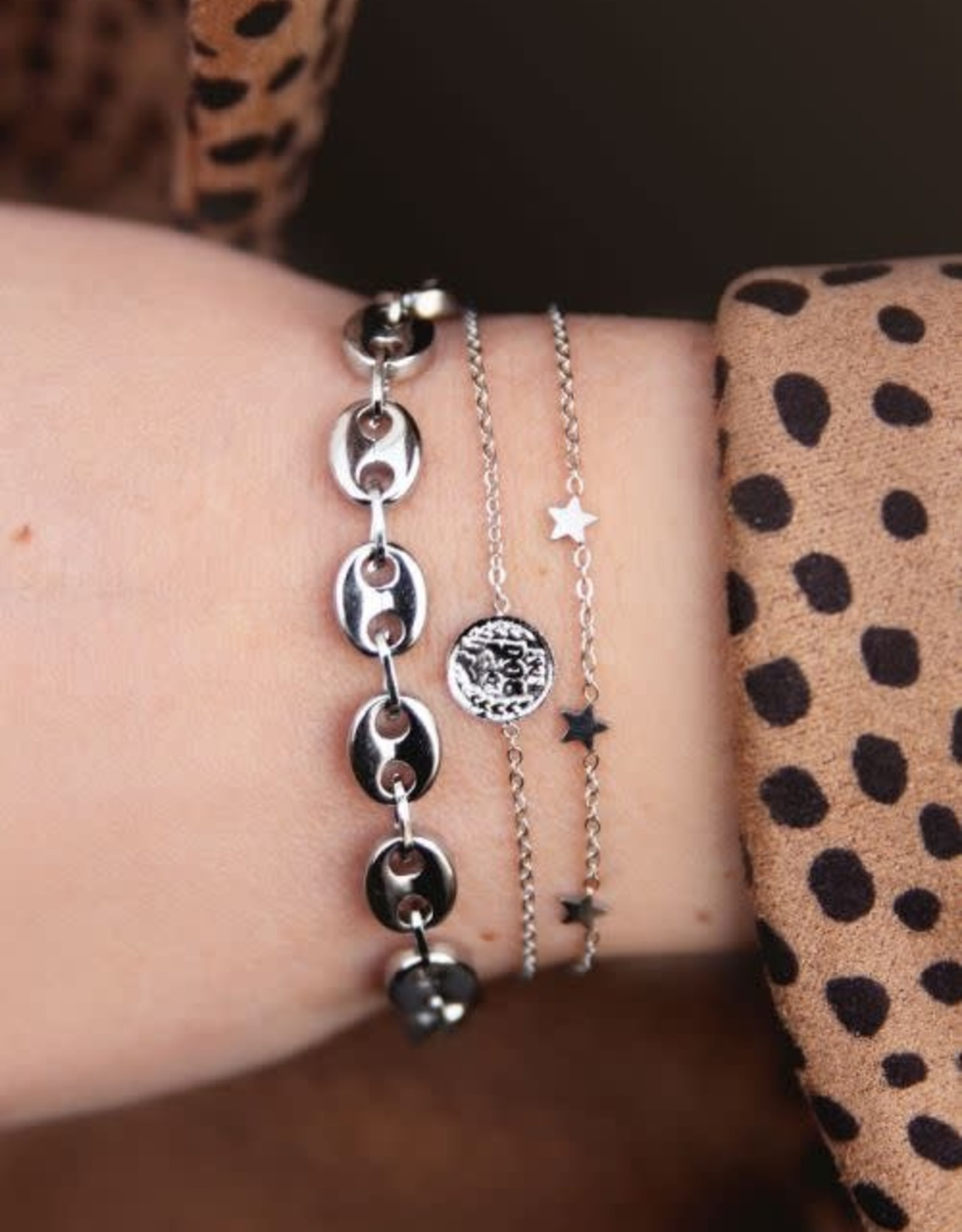 MyJewellery Armband Sterretjes Zilver