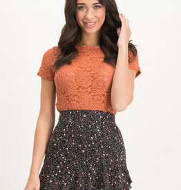 Lofty Manner Top Noralie Orange