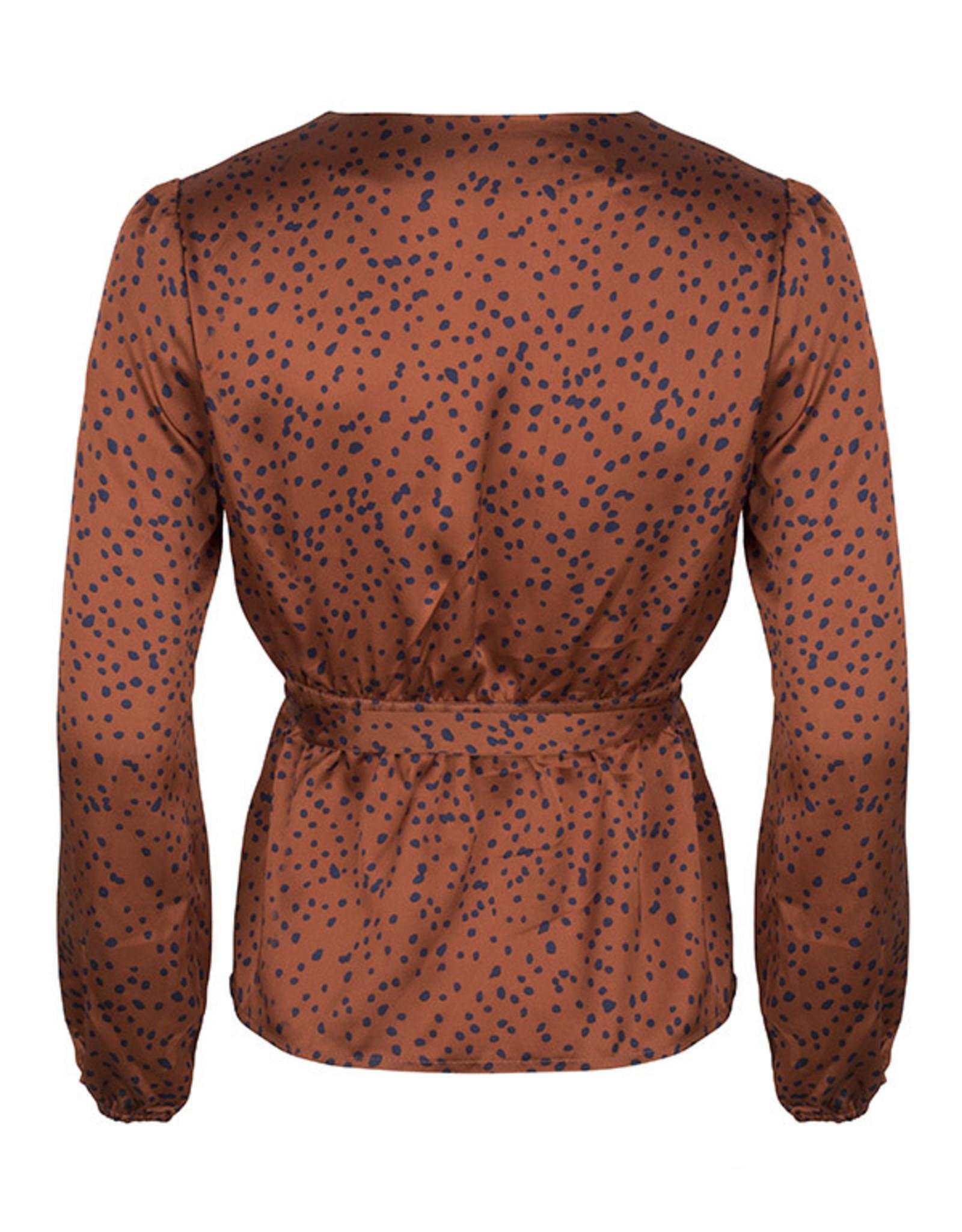 Lofty Manner Blouse Jonna Orange