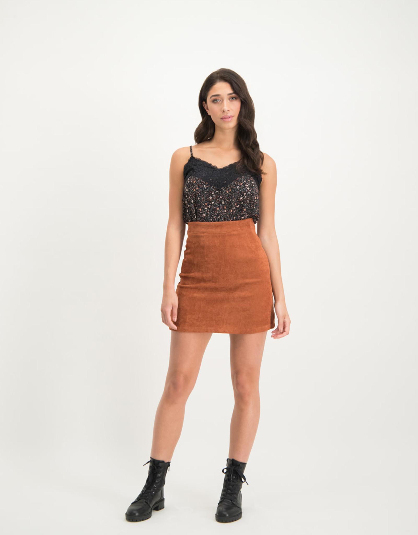 Lofty Manner Skirt Claudia Orange