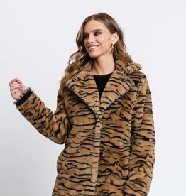 Rut&Circle Nova Faux Fur Jacket