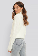 Rut&Circle Tinelle Rollneck Knit Off White