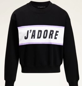 MyJewellery Zwarte Sweater J'adore