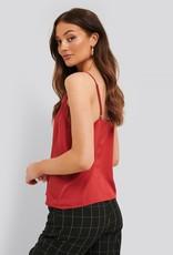 Rut&Circle Tina Lace Singlet Red