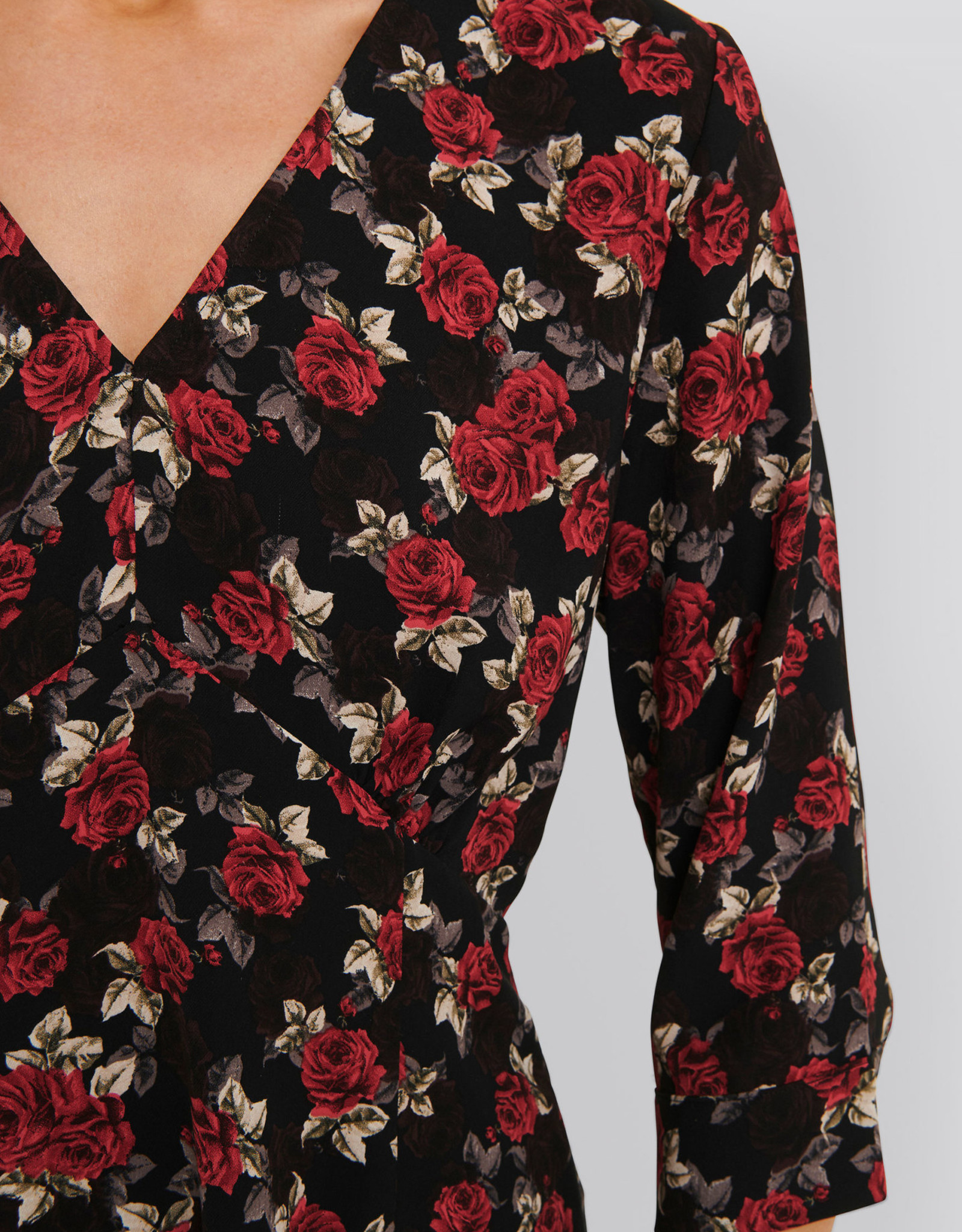 Rut&Circle Lilly Dress Red Flower
