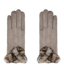 Handschoenen Warm Touch Taupe