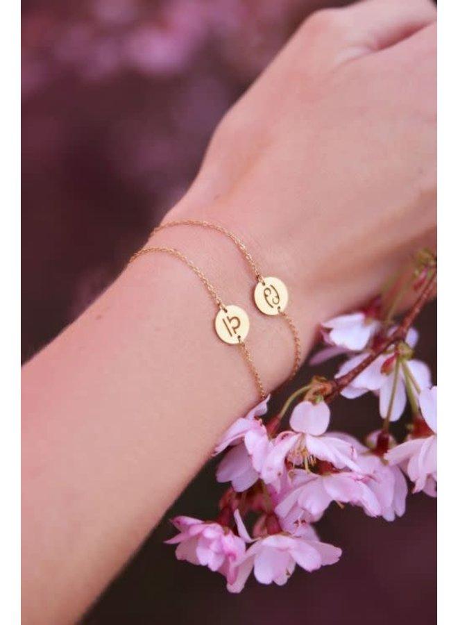 Sterrenbeeld Armband Goud