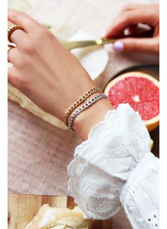 Armband Schakels Zilver