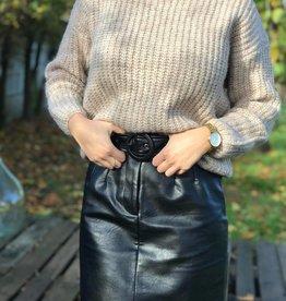 Lofty Manner Skirt Salomé Black