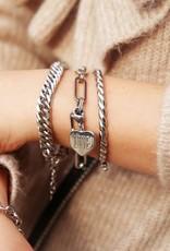 MyJewellery Armband Grote Ovale Schakels Zilver