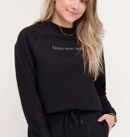 MyJewellery Zwarte Sweater Bisou