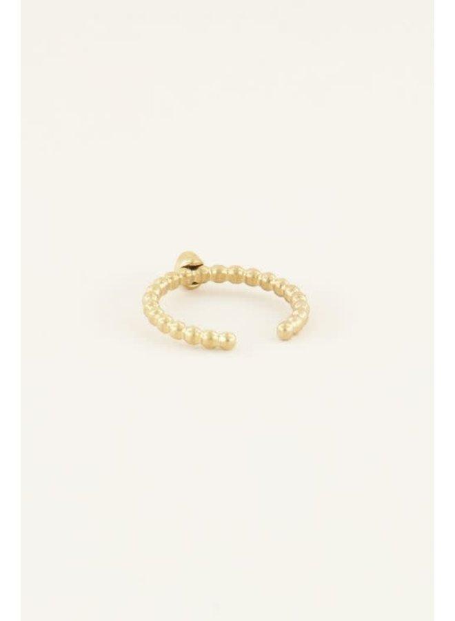 Geboortesteen Ring Februari Goud