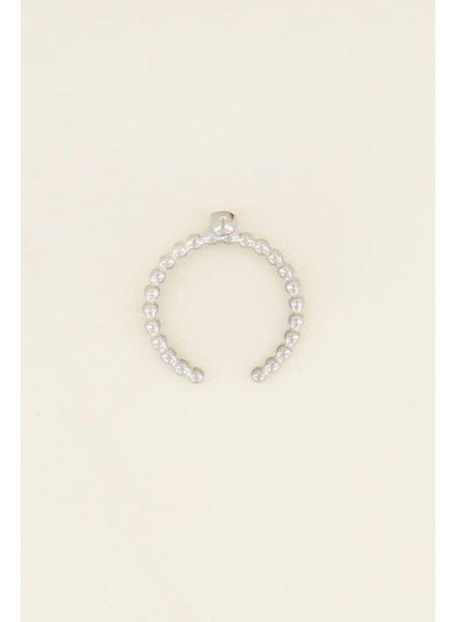 Geboortesteen Ring November Zilver