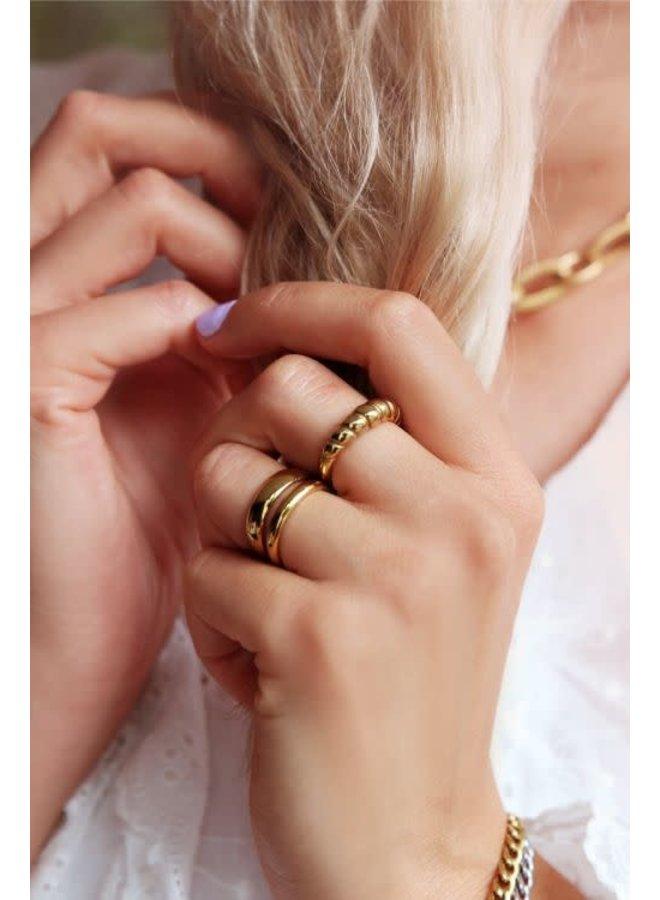 Smalle Ring Basic Goud