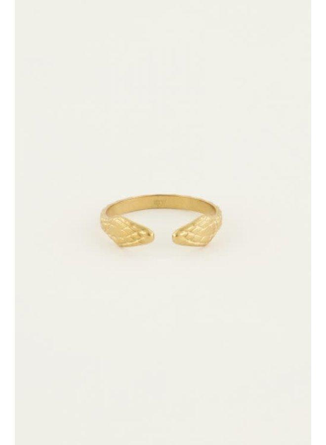 Ring Slang Goud